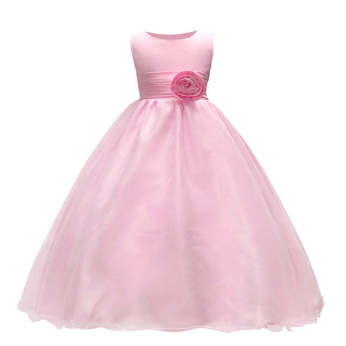 cbc6e2e10070 New dress baby girl dress kids clothes cute girl wedding children girl  princess dress evening dresses