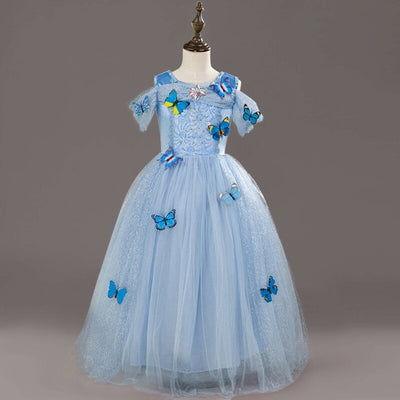 Babe Teen Girl Party Dress Kids Princess Dresses For Girls Weeding Evening Prom Gown