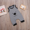 born Baby Boys Cotton Romper Sleeve Cute Bear Jumpsuit Outfit Clothes