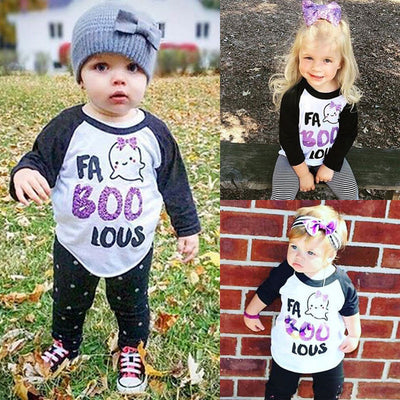 Baby Boys Girls Long Sleeve Letter T Shirt Kids  New Arrival Fashion Printed Cotton Tops Clothing For Newborns