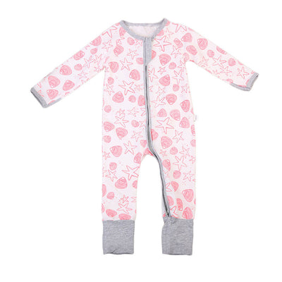 Baby Boy Girl Long Sleeve Zipper Romper Newborn Baby Clothes New Arrival Fashion Jumpsuit Outfit Clothes