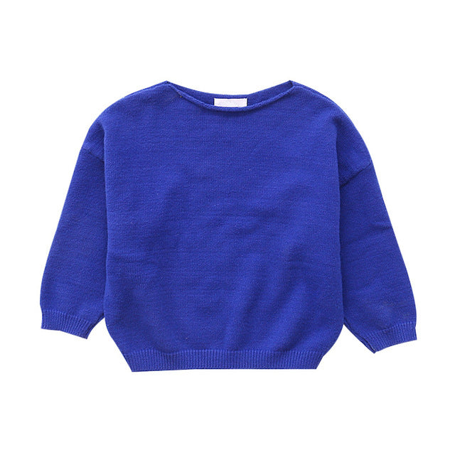 children sleeve sweaters for girls bottoming shirts autumn winter