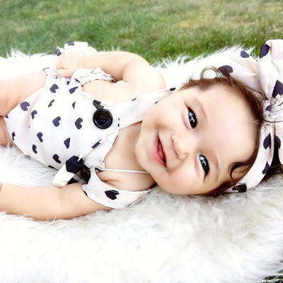 New Newborn Romper Baby Girl Infant Clothing 2pcs/Sets Tutu Sleeveless Romper Halter Belt jumpsuit+Headband
