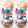 Floral Baby Girls Clothing Newborn Baby Girls Long Sleeve Zipper Bodysuit  New Warm Hot Jumpsuit Clothes For Newborns