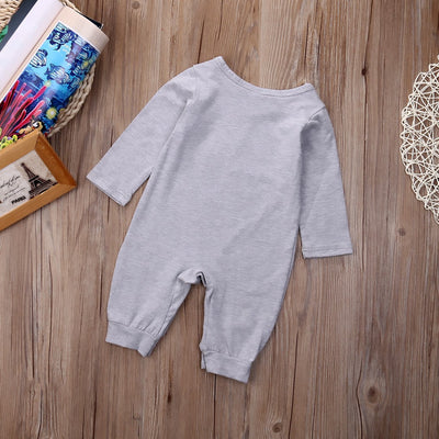Autumn Winter Newborn Kids Baby Boys Cotton Romper Long Sleeve Jumpsuit Outfits Clothes