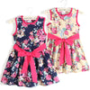 High Quality Children Summer Princess Dress Kids Clothing Bow Formal Sleeveless Dresses Girls Dress