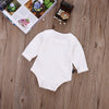Autumn Winter Infant Baby Kids Boy Girl Rabbit Long Sleeve Cotton Jumpsuit One-piece Clothes