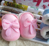 Lovely Winter Warm Baby Shoes Soft Bottom Bow Toddler shoes First walkers born Baby Boys Footwear