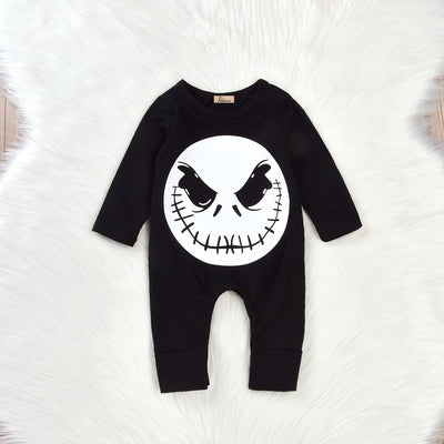 Baby Boy Girls Halloween Romper Jumpsuit Playsuit Clothes Outfits