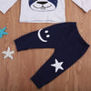 2pcs Cute Newborn Infant Baby Boys Girls Dog Long Sleeves Kids Tops Pants Clothes Outfits Cotton Set