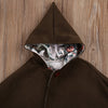 Autumn Winter Newborn Baby Girl Kid Hooded Coat Winter Warm Thick Cloak Jacket Clothes Outwear