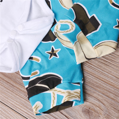 3pcs Infant Baby Boys Girls Letter Cotton Romper Pants new arrival fashion Jumpsuit Clothes Outfits Set
