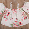 Newborn Infant Baby Girls Floral Tops Shorts Outfits  new arrival fashion baby Clothes Summer
