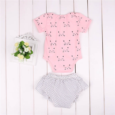 Newborn Clothes Infant Baby Girls Romper pants new arrival fashion Outfit Jumpsuit Pants Set