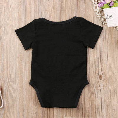 Baby Boy Girl Cotton Romper Newborn Kids Short Sleeve Romper Cute Bebes Summer Letter Jumpsuit New Hot Baby Clothing Outfit