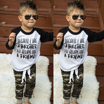 Baby Boy Clothes Set Children Clothes Kid Baby Boys Long Sleeve T-shirt Pants Leggings New Fall Bebes Boy Clothing Set