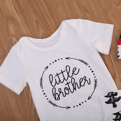 3PCS Set Newborn Baby Girls Boys Clothes Set Tops T-Shirt Long Pants Hat Casual Baby Boy Outfits Clothes