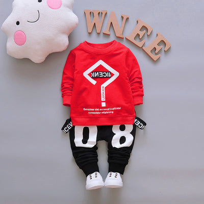 Baby Boys Clothes Sets Autumn Boys Sports wear Children Boys 2pcs T shirt Pants Tracksuit Sets Kids Boys Clothing Set