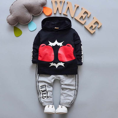 Baby Boys Clothing Sets Spring Autumn Children Boys Cartoon Hooded Sport Suit Kids Boys Tracksuit for Baby Clothing