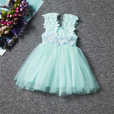Baptism Dancing tutu Princess dresses