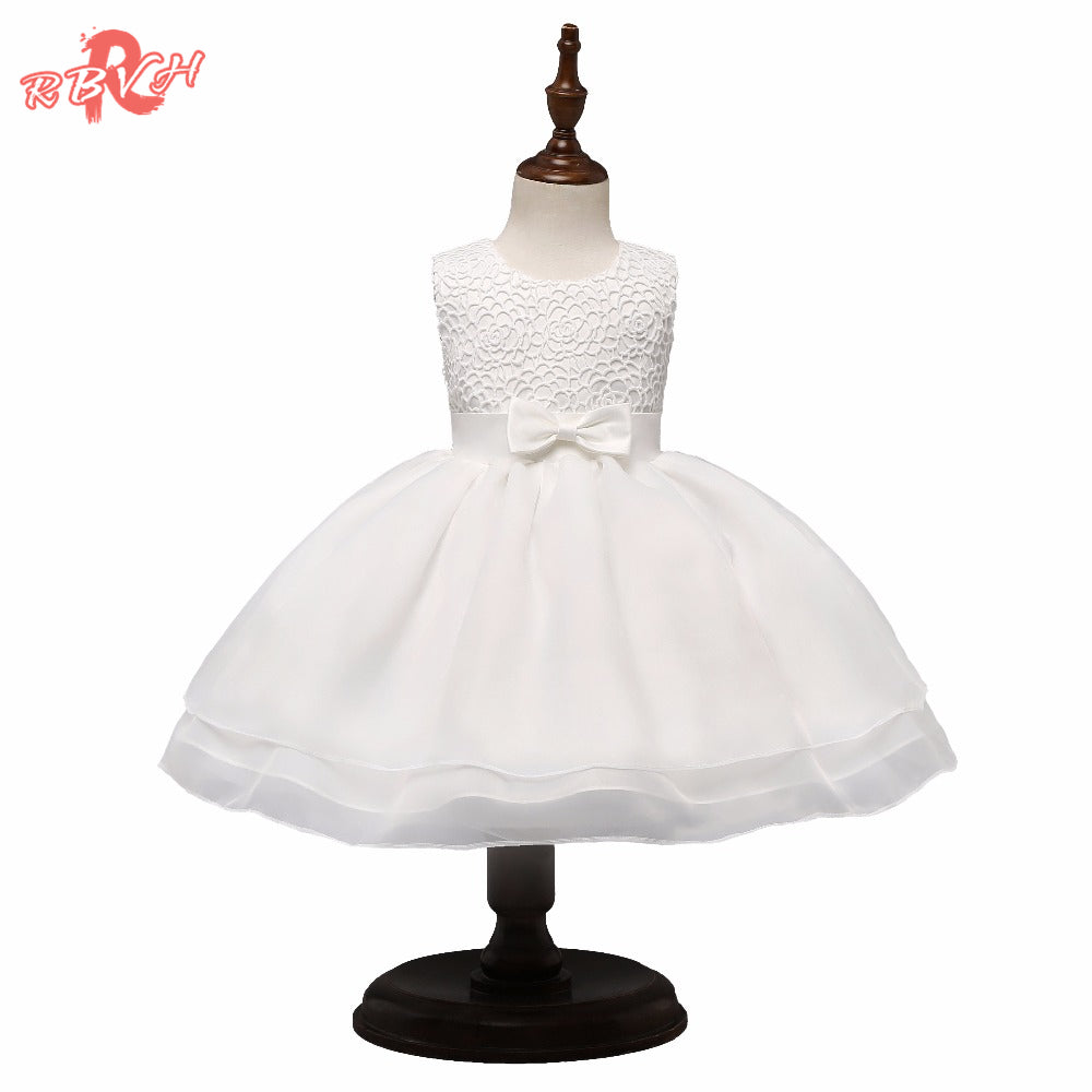 e650079cf56c0 Toddler Girl Christening Gown Newborn Babes Clothes Girl Infant Party  Dresses For 1st Birthday Outfits Baptism Baby Costume