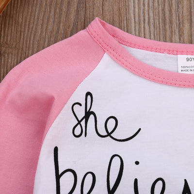 Autumn Winter Baby Girls Clothing Cartoon Girl Print Long Sleeve T shirts Casual Blouse Tops Children's Clothing