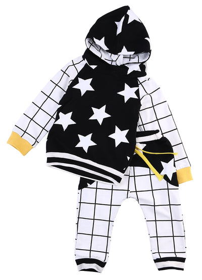 New children boys clothing sets sports tracksuits clothes for boy knitting long Shirt+ pant trunks