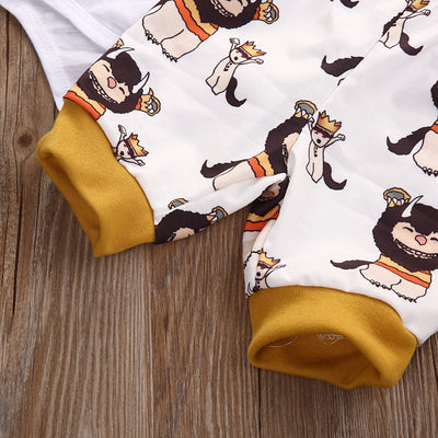 2Pcs! Newborn Baby Girl Boy clothing set Cotton Clothes Long Sleeve Cotton Romper+Pants Outfits Clothes Set