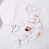 Baby boy clothes baby clothing set fashion cotton Deer Romper +pants+hat newborn baby girl clothing set