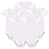 Baby Girl Boy Summer Clothes White Color Short Sleeves Born Body Baby Next Baby Bodysuit