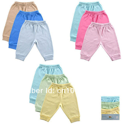 Friend 3 Pack Baby Pants ,0-3,3-6,6-9,9-12 months