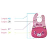 Baby Bibs Waterproof Cartoon Bib Burp Cloths For Children Self Feeding Care Bibs