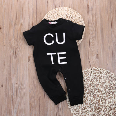Unisex baby clothes Spring Autumn baby Rompers Short sleeve fleece jumpsuit newborn Baby Boy Rompers costumes for girls