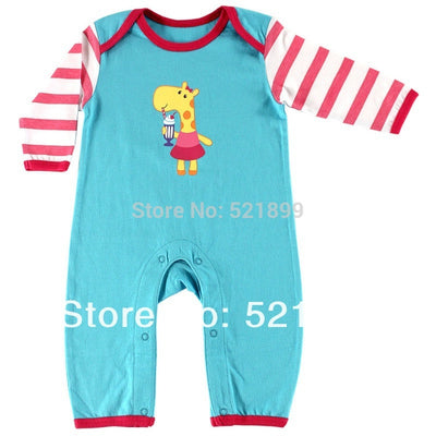 Baby Romper Long Sleeve Cotton Rompers Infants Baby Wear Clothing Newborn Baby Clothes