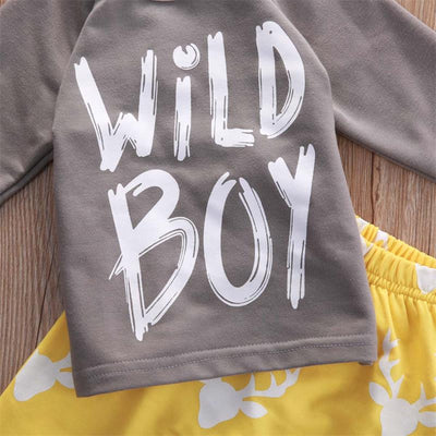 Autumn Kids boys clothes set Baby boy clothes fashion toddler