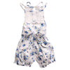 born baby girl rompers Sleeve Lace Patchwork infant princess Lace Floral Romper Jumpsuit Outfits Backless Clothes