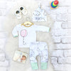 Autumn style infant clothes baby clothing sets boy Cotton Long sleeve Balloon cloud 3pcs suit baby boy clothes newborn