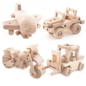 Wooden Assembled DIY 3D Puzzles