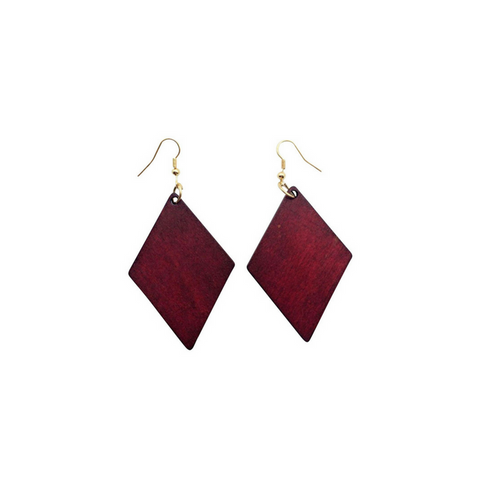 Rhombus  African earrings