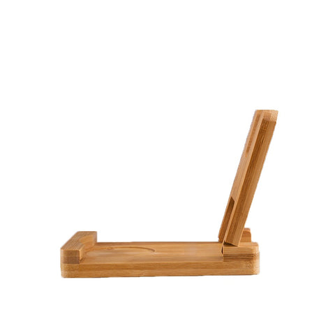 Multi-function foldable bamboo stand