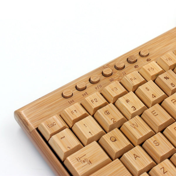 Bamboo Wireless Keyboard and Mouse set
