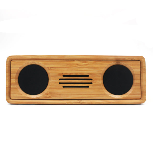 Bamboo Portable Bluetooth speaker