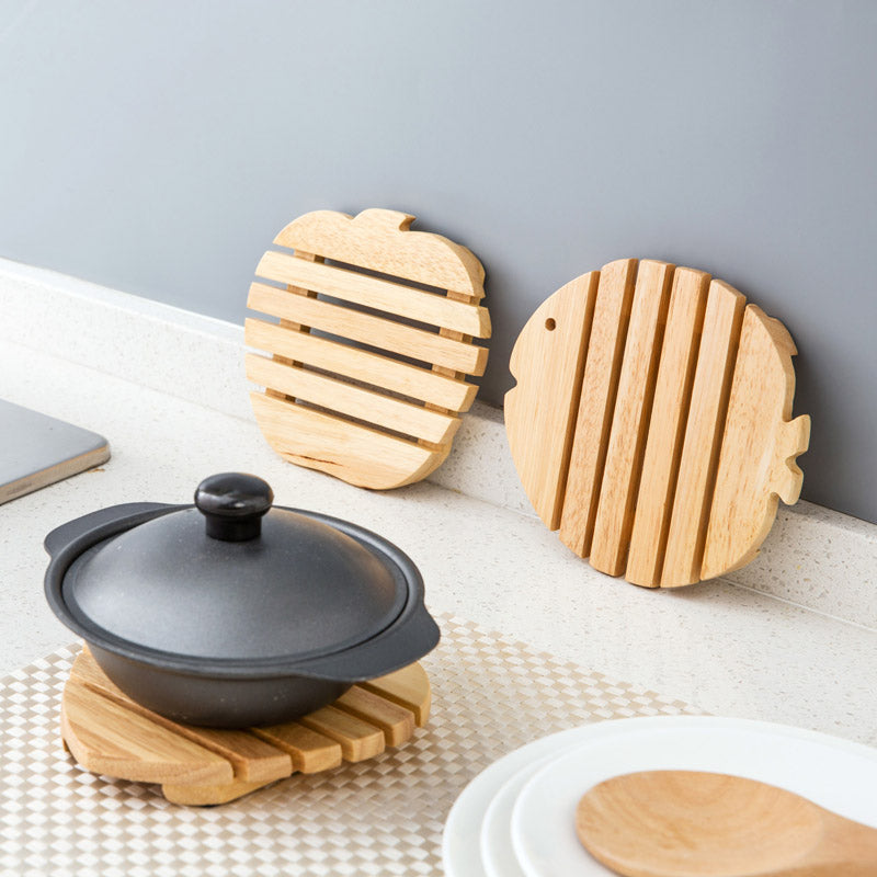 ... Fish Shaped Wooden Table Coaster ...