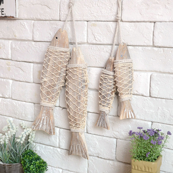 Wooden Fish Wall Hanging