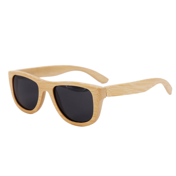 Natural Black lens sunglasses with case