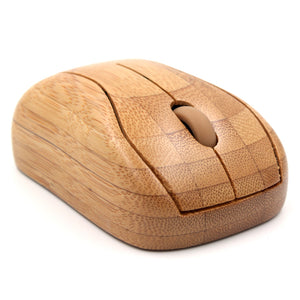 Bamboo mini wireless Mouse