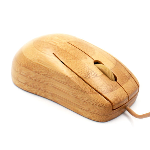 Bamboo mini wired Mouse