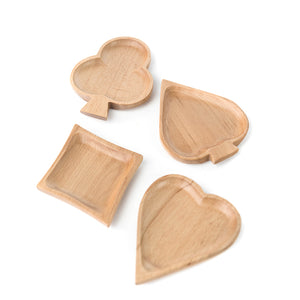 Creative wooden plates