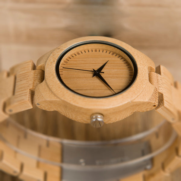 Bamboo Women's Watch