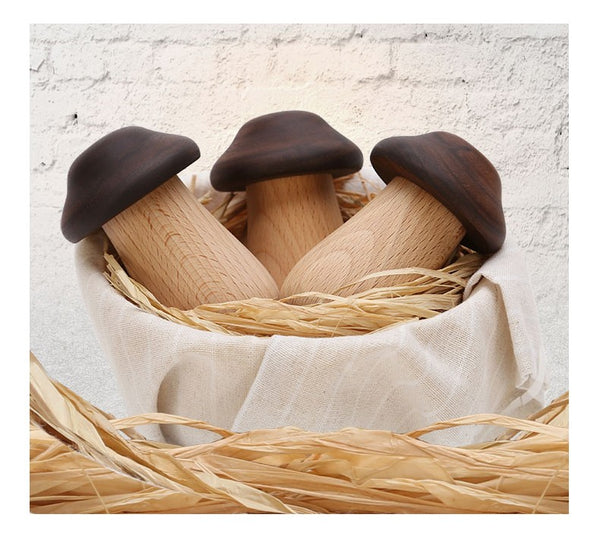 Wooden Toothpick mushroom container